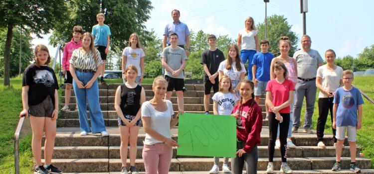 Digitaler Spendenlauf der Gesamtschule Mücke